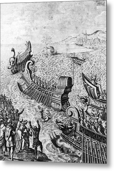 Voyage Of The Argo Metal Print by Hulton Archive