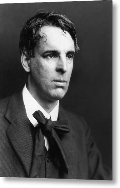 W B Yeats Metal Print by George C. Beresford