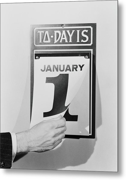 Wall Calendar Metal Print by H. Armstrong Roberts
