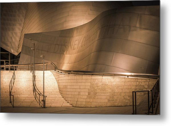 Walt Disney Concert Hall, La, Walt Disney Concert Hall, Los Angeles, California Metal Print