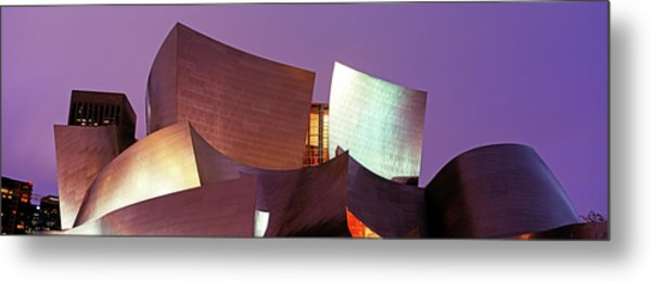 Walt Disney Concert Hall. Los Angeles Metal Print