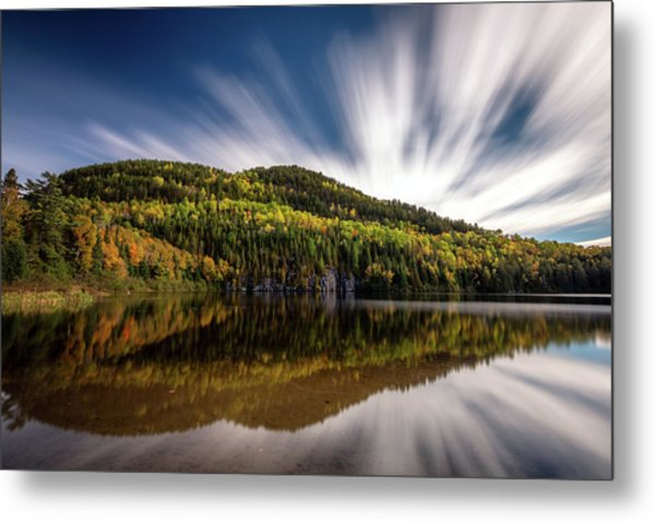 Metal Print featuring the photograph Wapizagonke Lake Reflection by Pierre Leclerc Photography