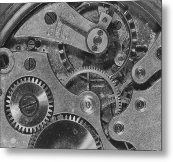 Watch Cogs Metal Print by Fox Photos