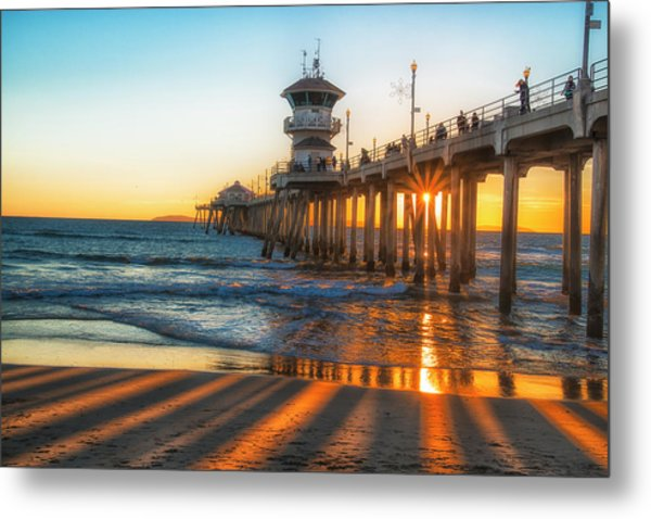 Watching The Sunset Metal Print by Fernando Margolles
