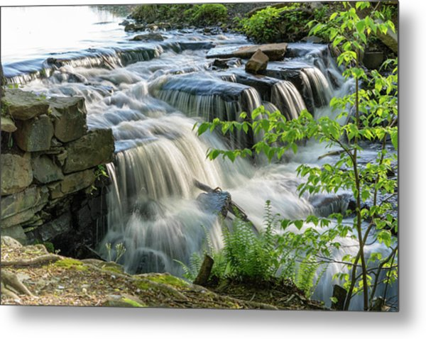 Waterfall At The Old Mill  Metal Print