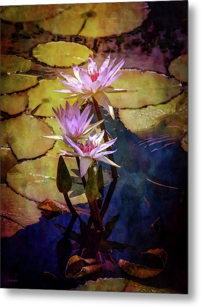 Waterlily Bouquet 2922 Idp_6 Metal Print