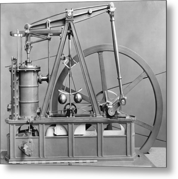 Watts Engine Metal Print by Hulton Archive