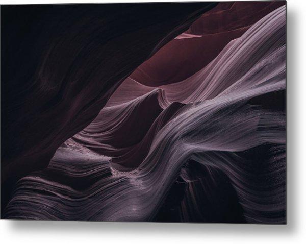 Well Hidden II, Lower Antelope Canyon, Az Metal Print