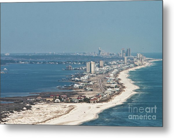 West Beach-1 Metal Print