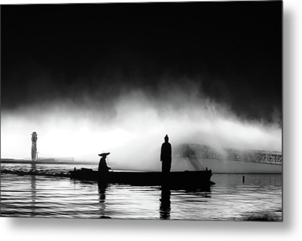 West Lake Metal Print