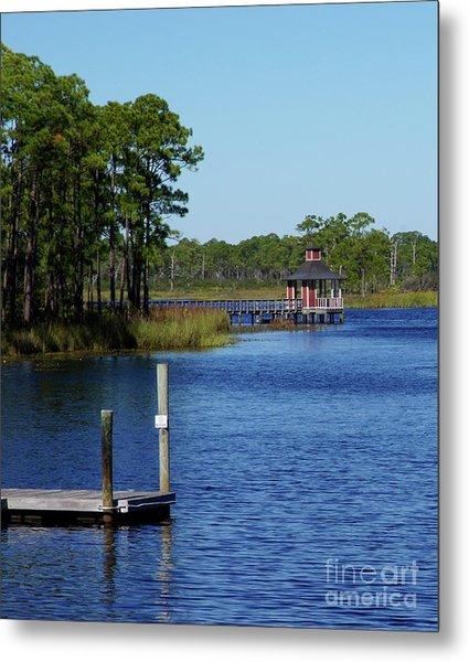 Western Lake Florida Metal Print