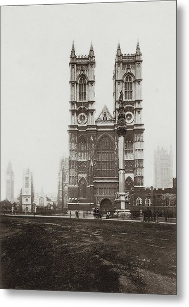 Westminster Abbey Metal Print by Otto Herschan Collection