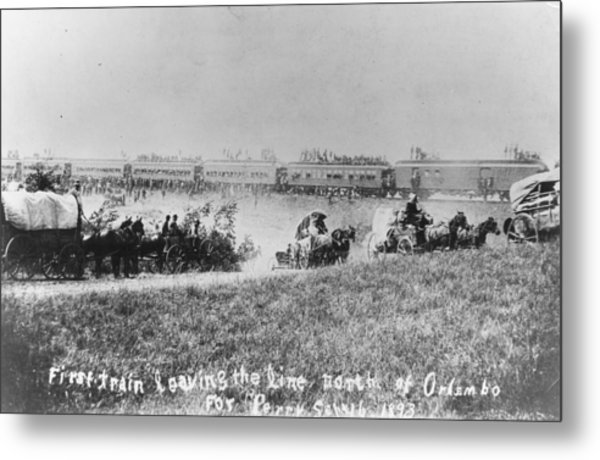 Westward Expansion Metal Print by Authenticated News
