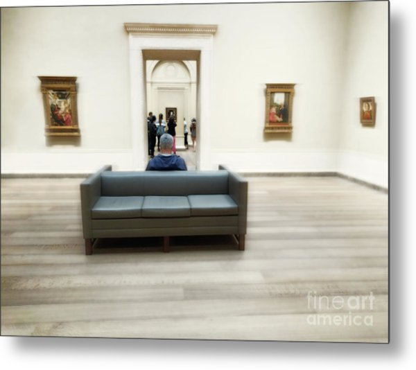 Art That Attracts  Metal Print by Steven Digman