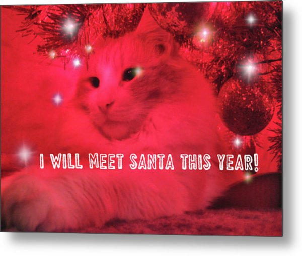 Where's Santa? Metal Print by JAMART Photography
