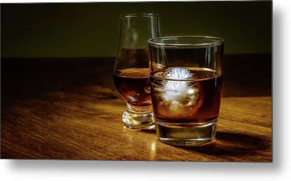 Whisky For Two Metal Print