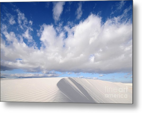White Sands National Monument In New Metal Print
