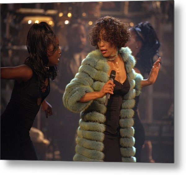 Whitney Houston Vh1 Diva Concert Metal Print by New York Daily News Archive