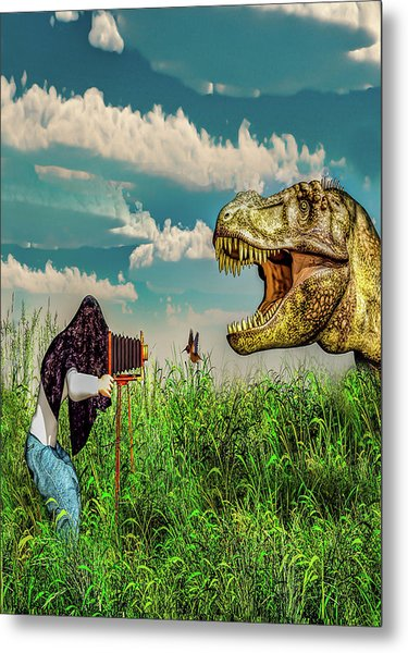 Wildlife Photographer  Metal Print
