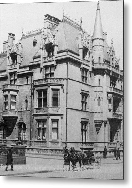 William K. Vanderbilt House Metal Print by Archive Photos