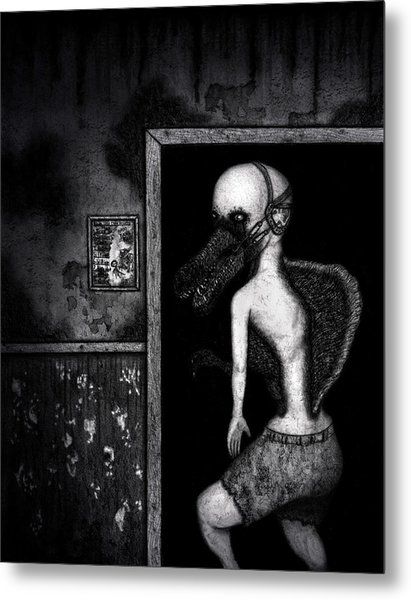 William The Flesheater - Artwork Metal Print