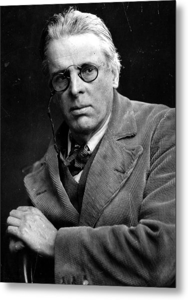 William Yeats Metal Print by Hulton Archive