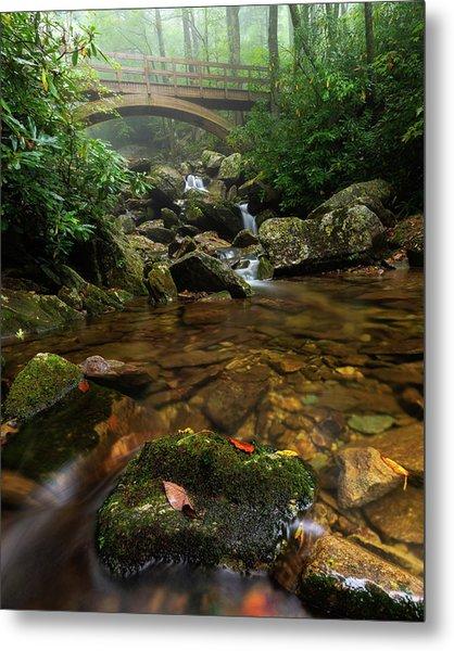 Wilson Creek Bridge Tanawha Trail - Blue Ridge Parkway Metal Print