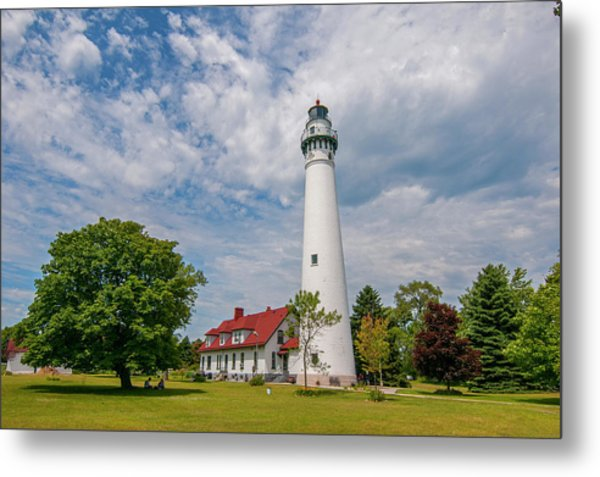 Wind Point Lighthouse No 3 Metal Print