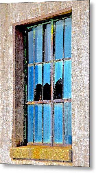 Window Metal Print by Gillis Cone