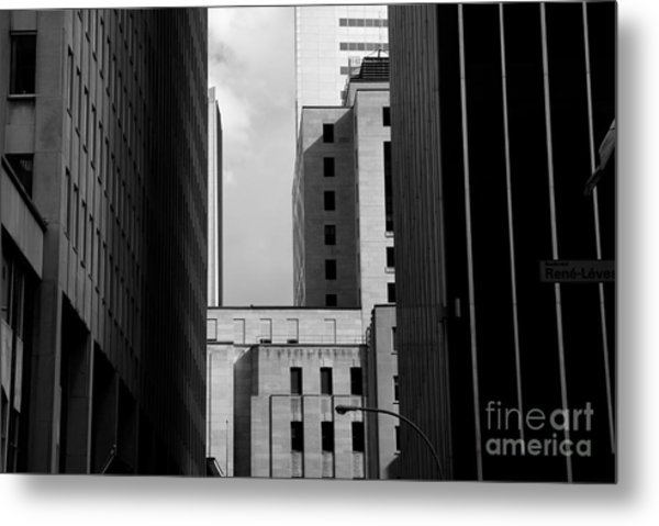 Windows, Montreal, Quebec, Canada Metal Print