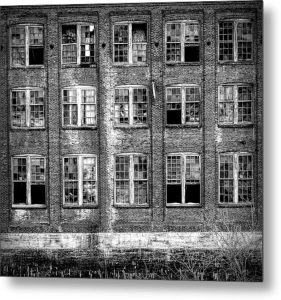 Windows Of Old Claremont Metal Print