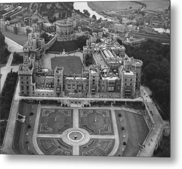 Windsor Castle Metal Print by Central Press