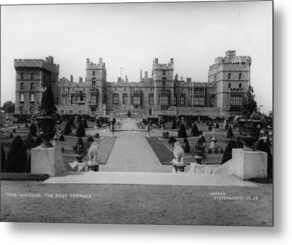 Windsor Castle Metal Print by London Stereoscopic Company