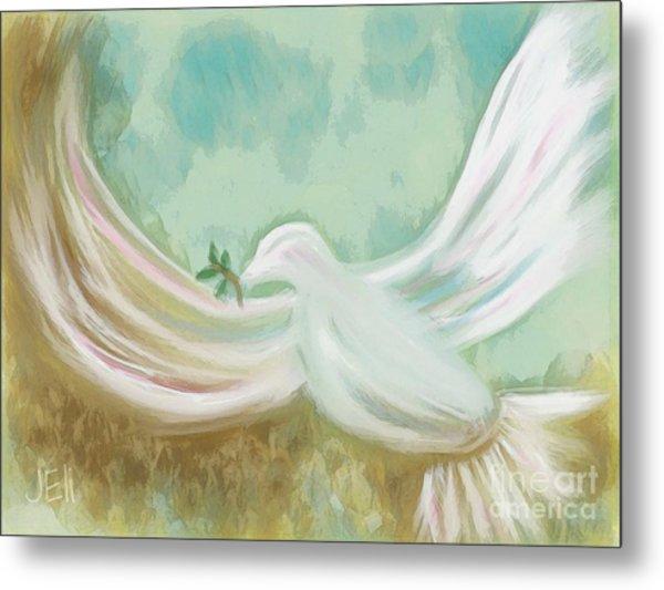Wings Of Peace Metal Print
