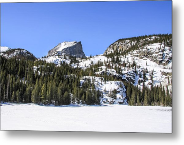 Metal Print featuring the photograph Winter At Notchtop Mountain by Dawn Richards