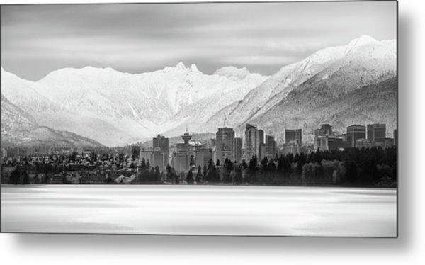 Winterscape Vancouver Metal Print