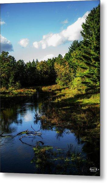 Wisconsin Waterscape Metal Print