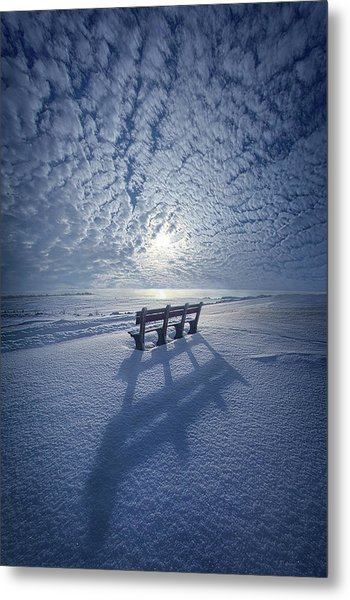 Metal Print featuring the photograph Within The Absence Are The Memories by Phil Koch