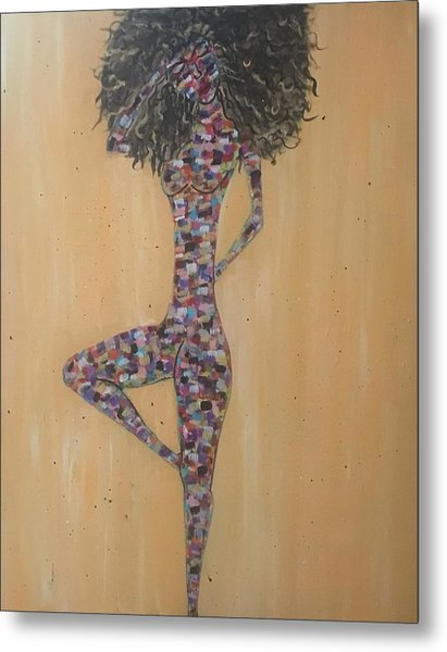 Woman Of Color IIi Metal Print
