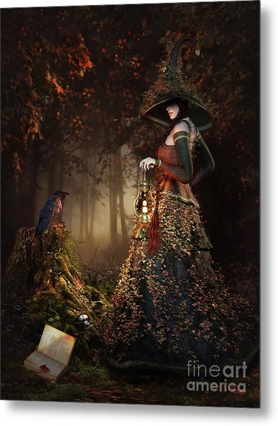 Wood Witch Metal Print