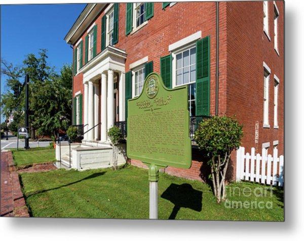 Woodrow Wilson Boyhood Home - Augusta Ga 1 Metal Print