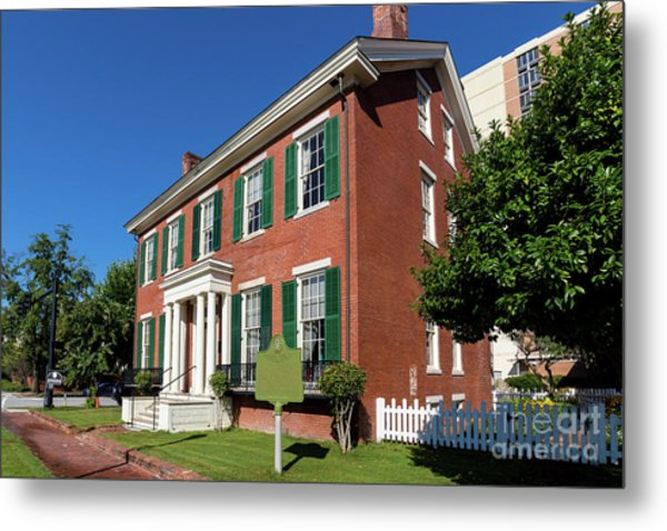 Woodrow Wilson Boyhood Home - Augusta Ga 2 Metal Print