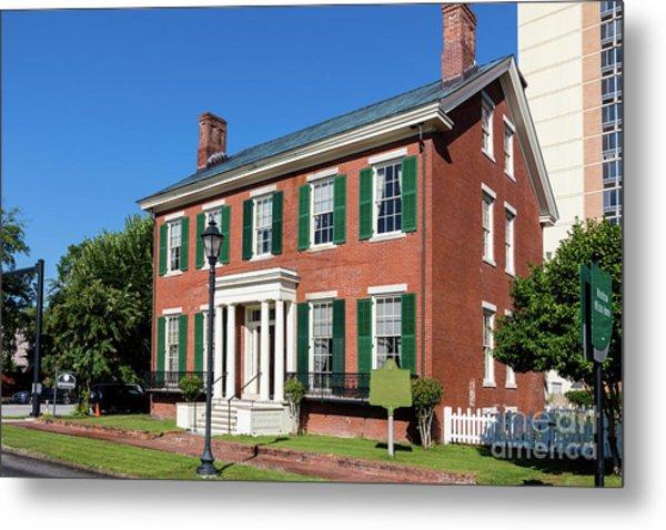 Woodrow Wilson Boyhood Home - Augusta Ga 3 Metal Print