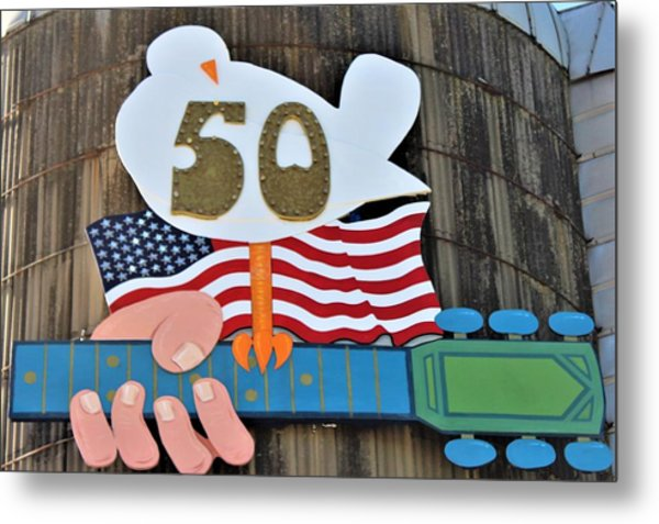 Woodstock 50th Anniversary Metal Print