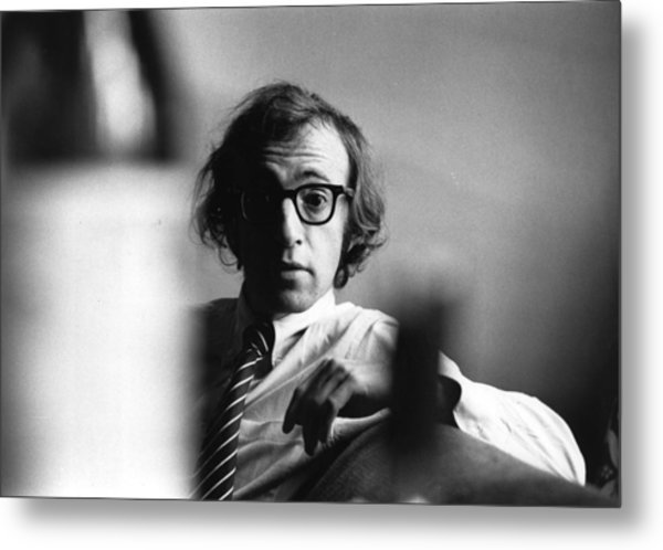 Woody Allen Metal Print by Evening Standard