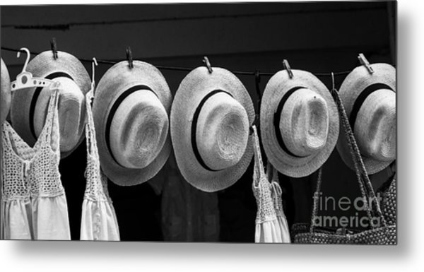 Workshop For Making Hats In The Streets Metal Print
