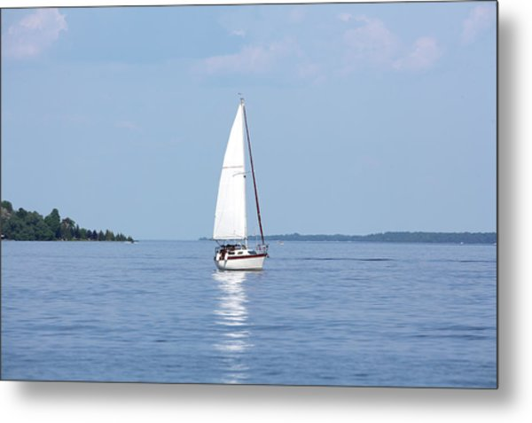 Yachting Metal Print by Chrisboy2004