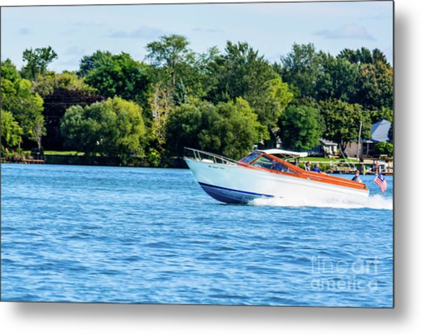 Yes Its A Chris Craft Metal Print