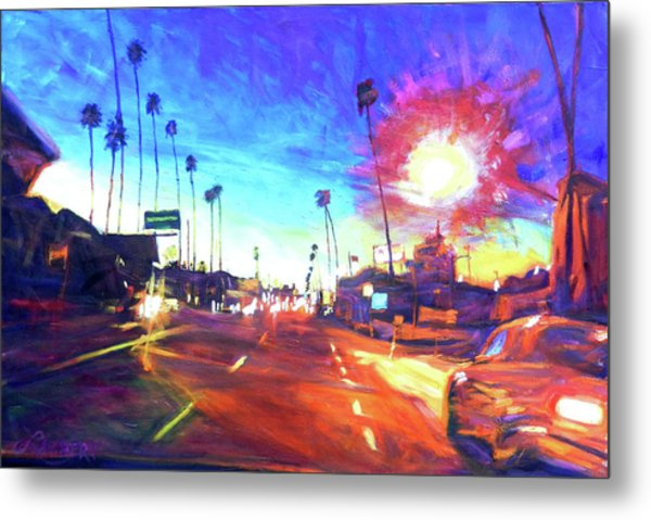 York At Figueroa, Highland Park Metal Print