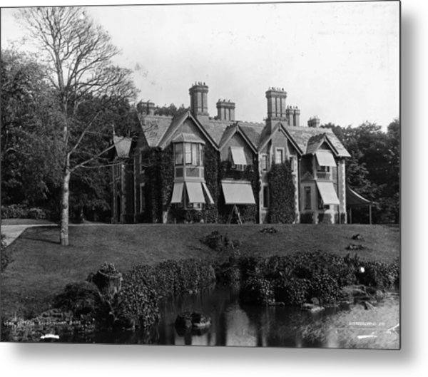 York Cottage Metal Print by London Stereoscopic Company